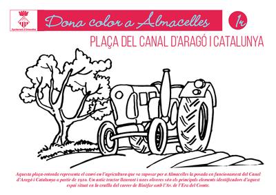 Plaça del Canal d'Aragó i Catalunya