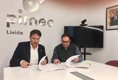 entrevista amb el president de la PIME Comerç de Lleida