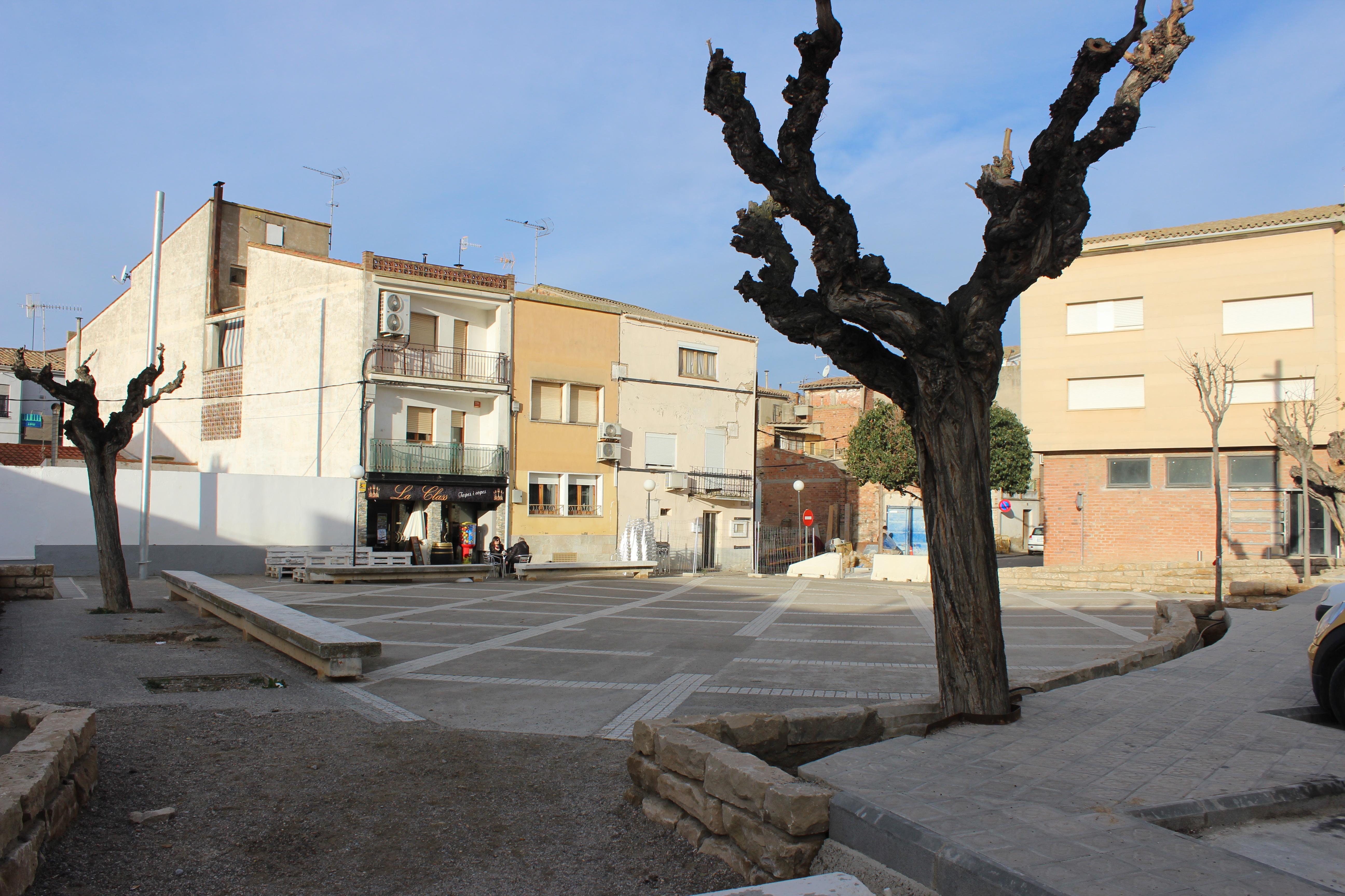 Plaça Fortuny