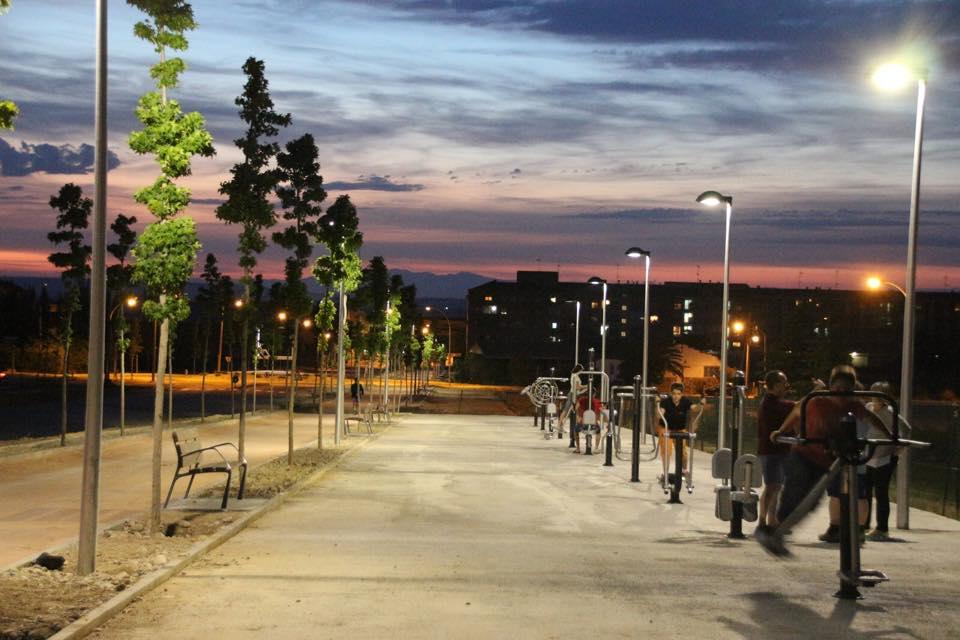 Zona esportiva avinguda dels Esports